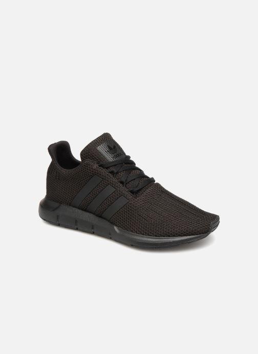 Trainers adidas originals Swift Run J Black detailed view/ Pair view