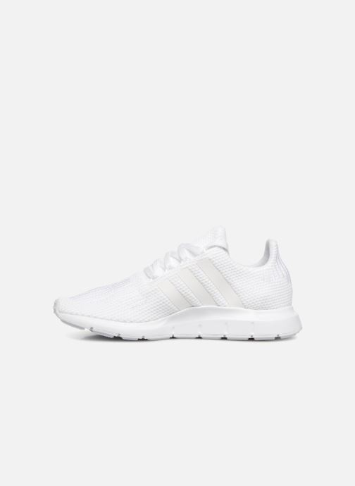Deportivas adidas originals Swift Run J Blanco vista de frente
