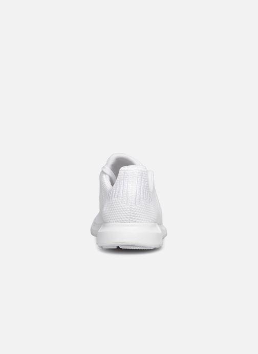Sneaker adidas originals Swift Run J weiß ansicht von rechts