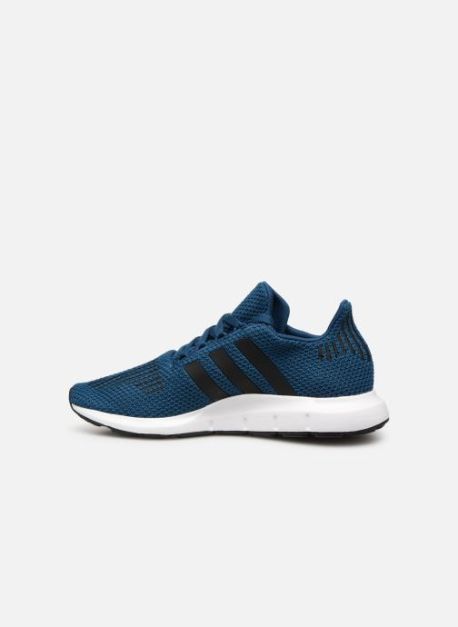 Baskets Adidas Originals Swift Run J Bleu vue face