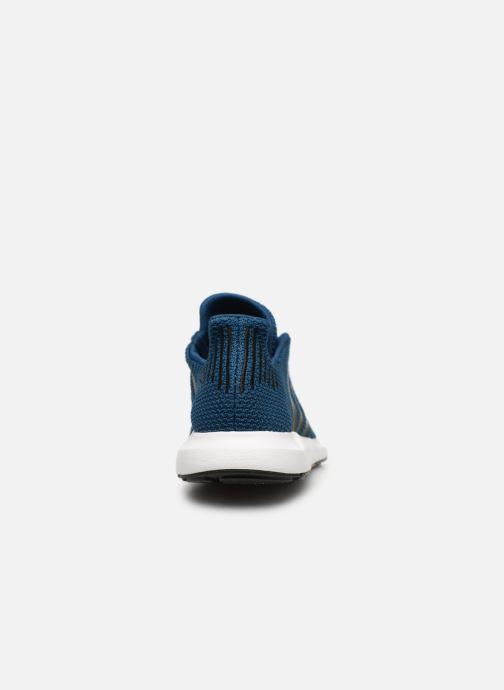 Baskets adidas originals Swift Run J Bleu vue droite