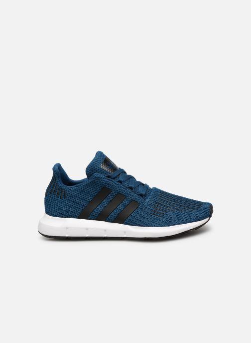 Baskets adidas originals Swift Run J Bleu vue derrière
