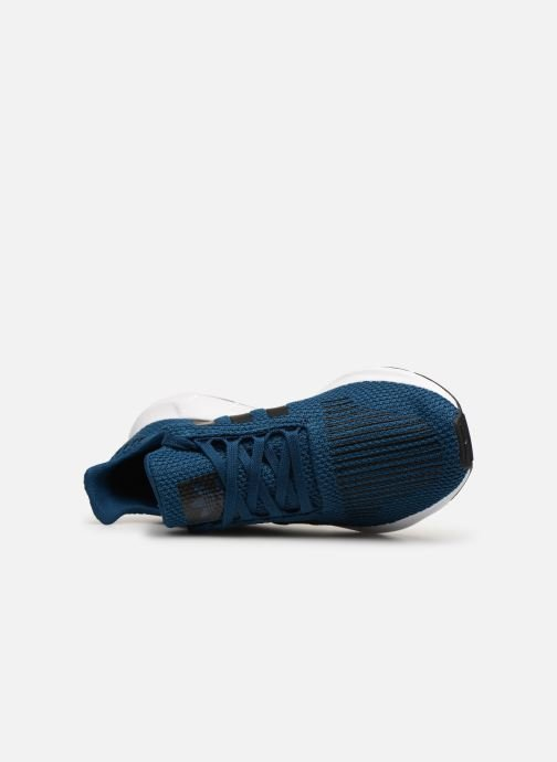 Baskets adidas originals Swift Run J Bleu vue gauche