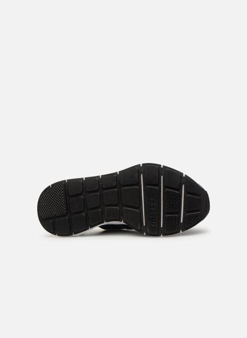 Baskets adidas originals Swift Run J Bleu vue haut