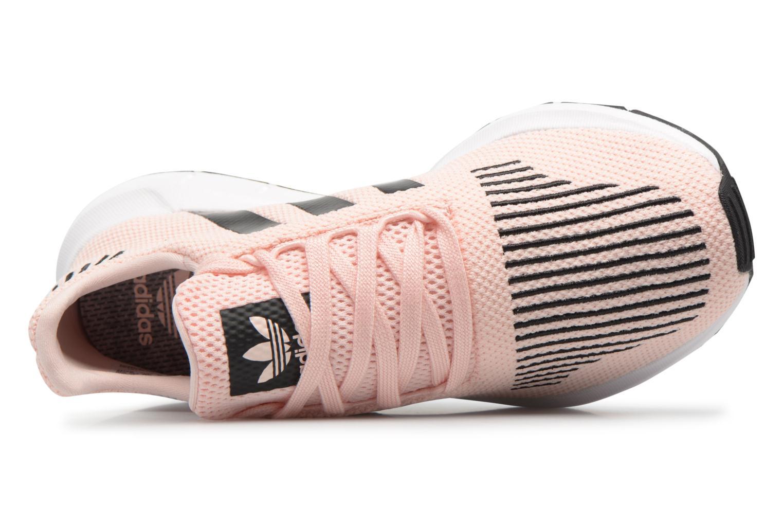 Sneakers Adidas Originals Swift Run J Rosa immagine sinistra