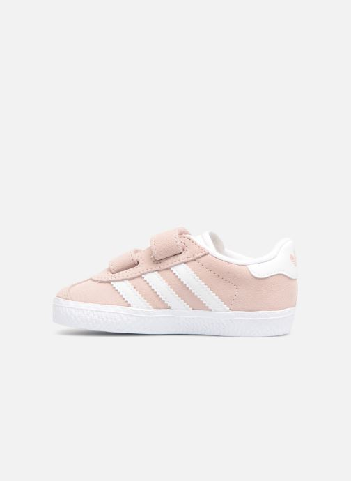 Baskets adidas originals Gazelle Cf I Rose vue face