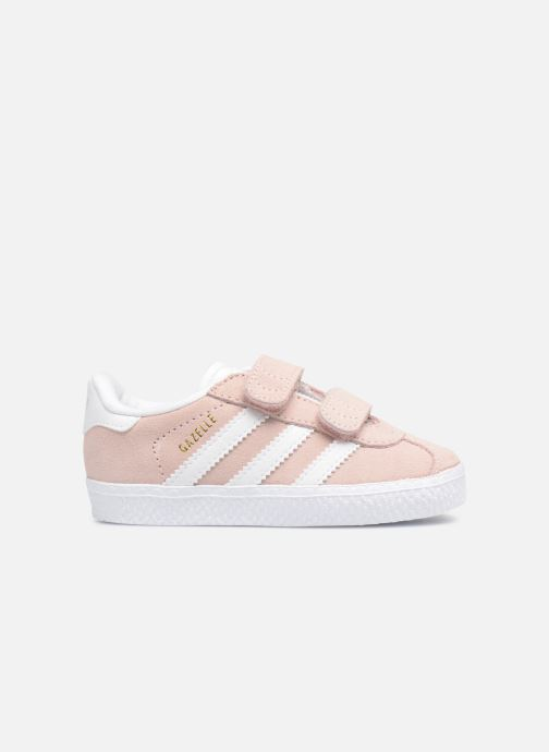 Baskets adidas originals Gazelle Cf I Rose vue derrière