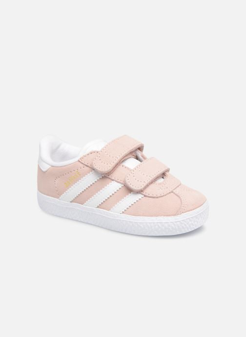 Trainers adidas originals Gazelle Cf I Pink detailed view/ Pair view