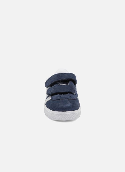 Deportivas Adidas Originals Gazelle Cf I Azul vista del modelo