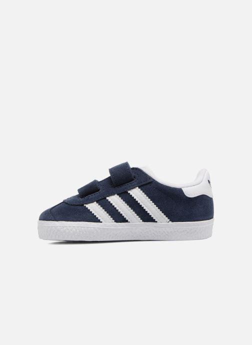 Baskets Adidas Originals Gazelle Cf I Bleu vue face