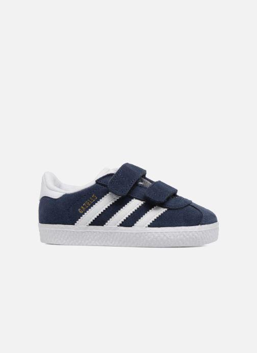 Baskets Adidas Originals Gazelle Cf I Bleu vue derrière