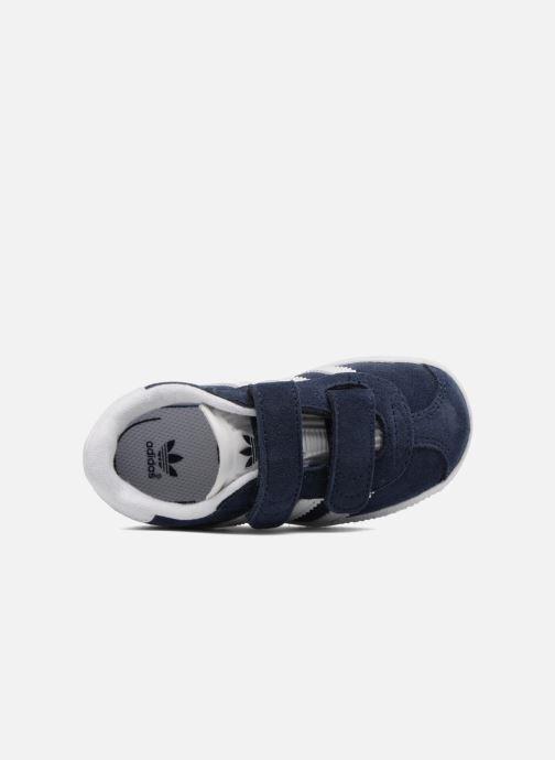 Baskets Adidas Originals Gazelle Cf I Bleu vue gauche