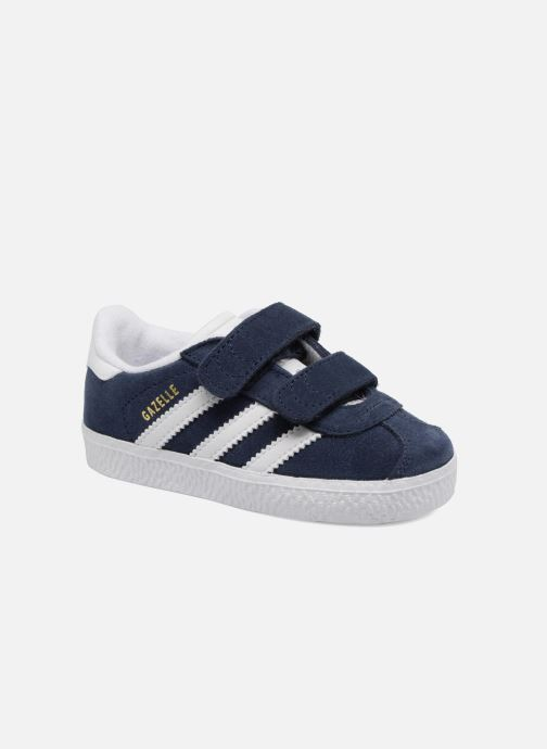 Baskets Adidas Originals Gazelle Cf I Bleu vue détail/paire