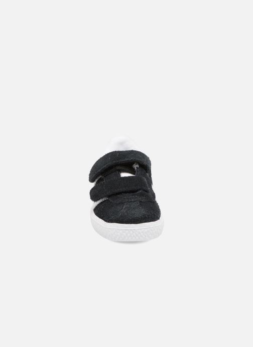 Sneaker adidas originals Gazelle Cf I schwarz schuhe getragen