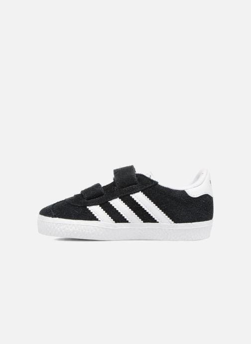 Baskets adidas originals Gazelle Cf I Noir vue face