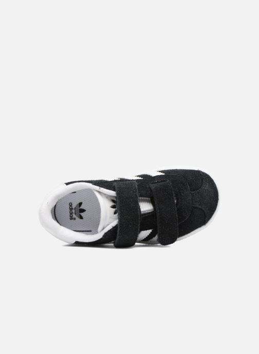 Sneaker adidas originals Gazelle Cf I schwarz ansicht von links