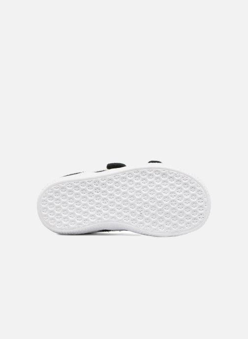 Sneaker adidas originals Gazelle Cf I schwarz ansicht von oben