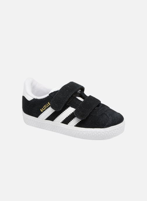 Baskets Adidas Originals Gazelle Cf I Noir vue détail/paire