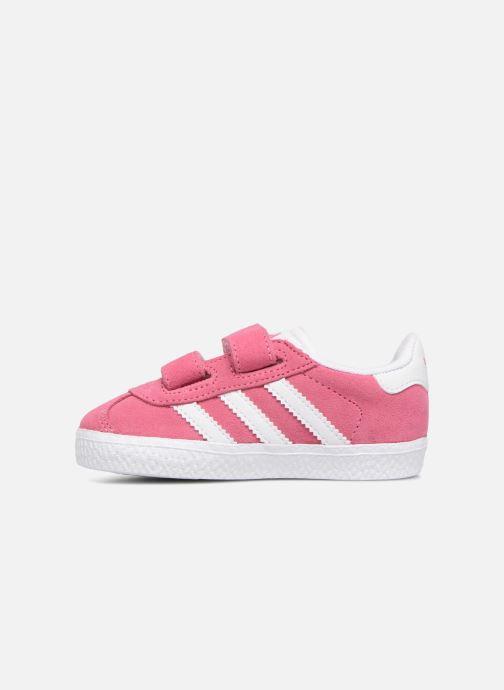 Sneakers adidas originals Gazelle Cf I Roze voorkant
