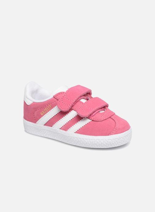1514a2c7c1944 ... uk deportivas adidas originals gazelle cf i rosa vista de detalle par  b5c99 3a865