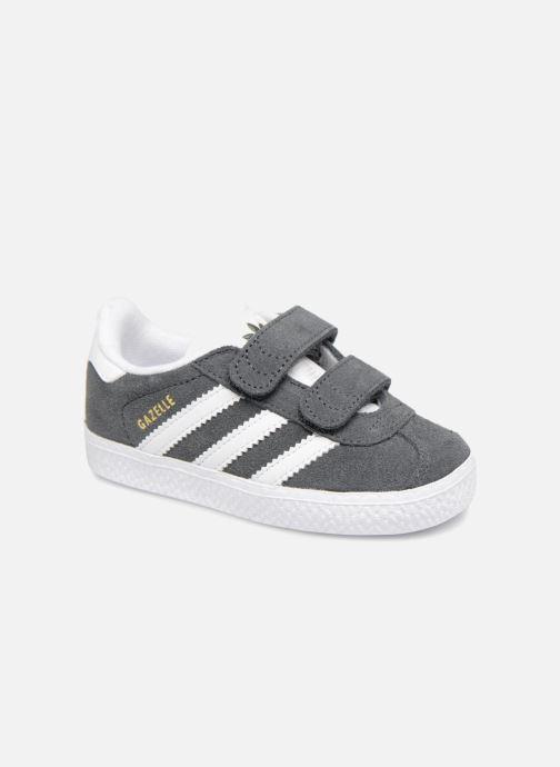Deportivas Adidas Originals Gazelle Cf I Gris vista de detalle / par