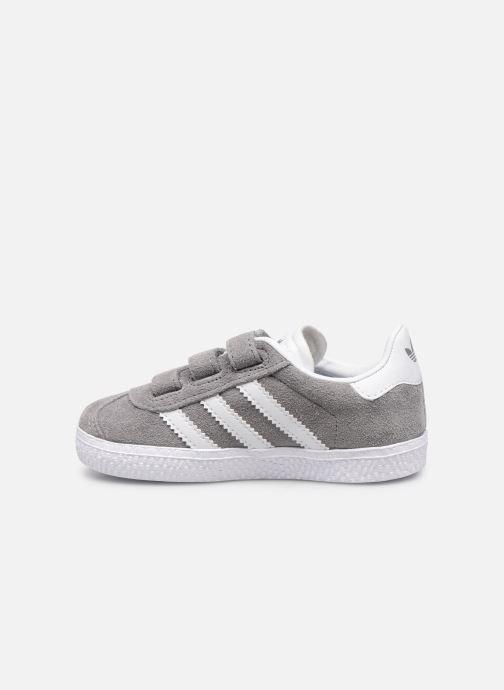 Sneaker adidas originals Gazelle Cf I grau ansicht von vorne