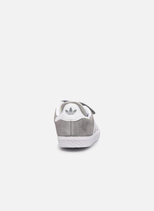 Baskets adidas originals Gazelle Cf I Gris vue droite