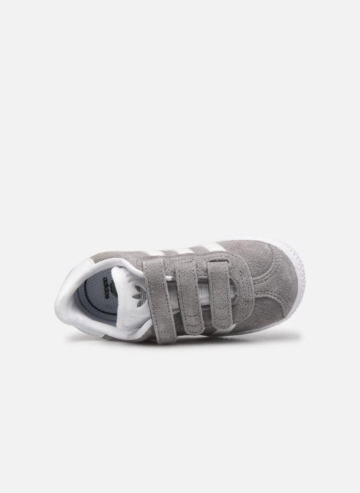 Sneaker adidas originals Gazelle Cf I grau ansicht von links