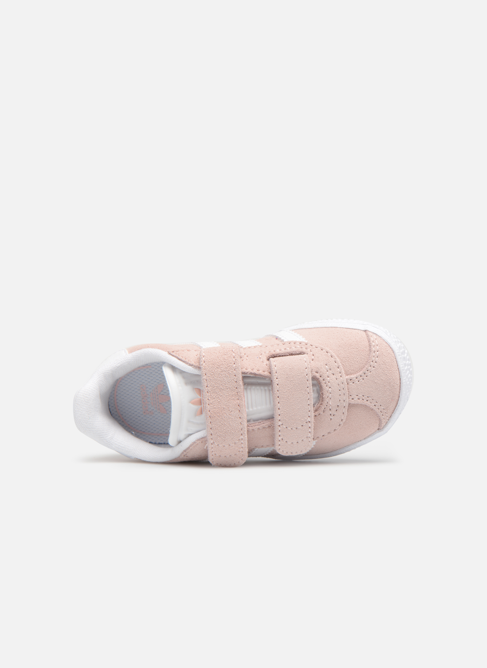 Sneakers Adidas Originals Gazelle Cf I Pink se fra venstre