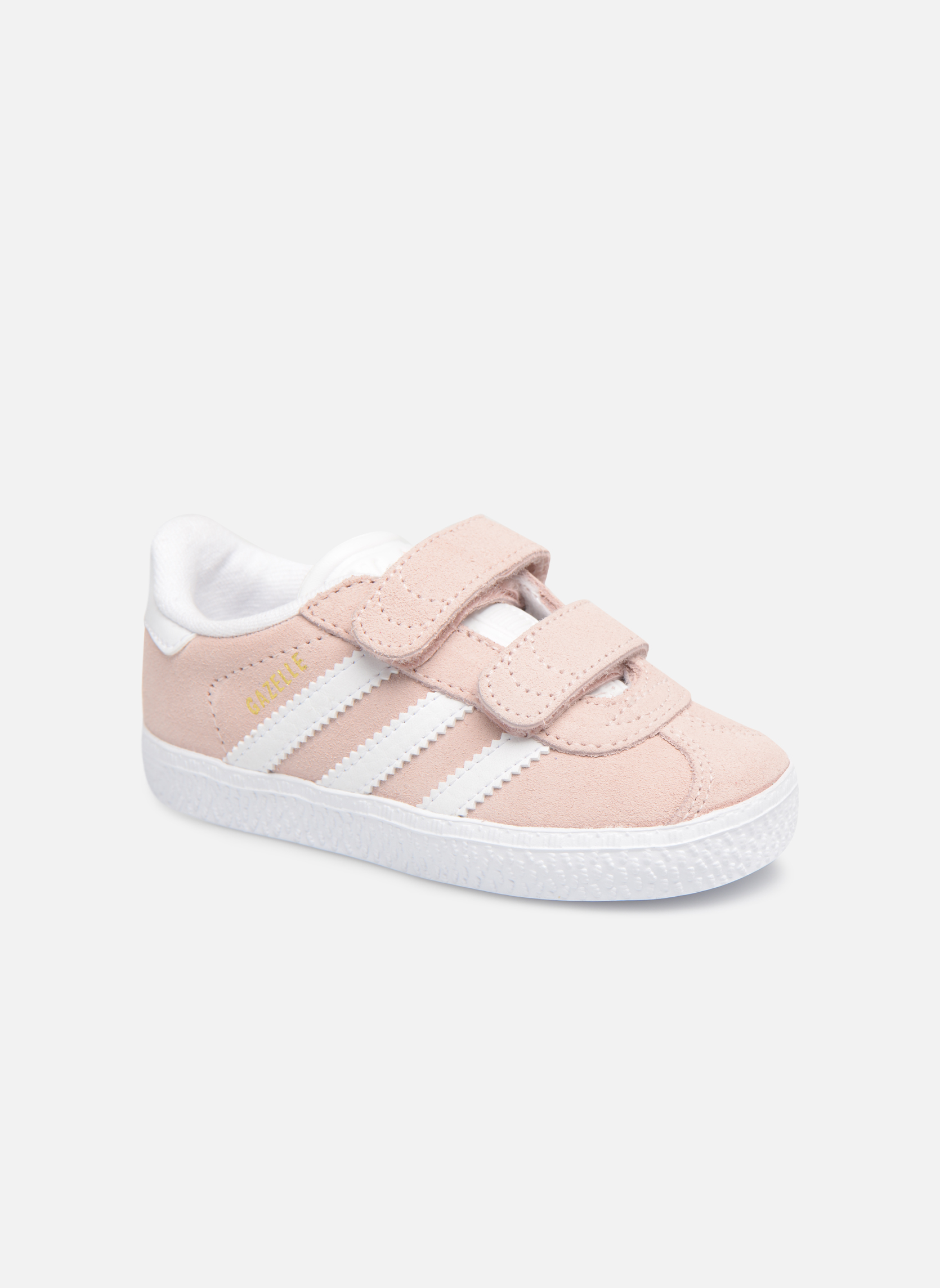 Baskets Adidas Originals Gazelle Cf I Rose vue détail/paire