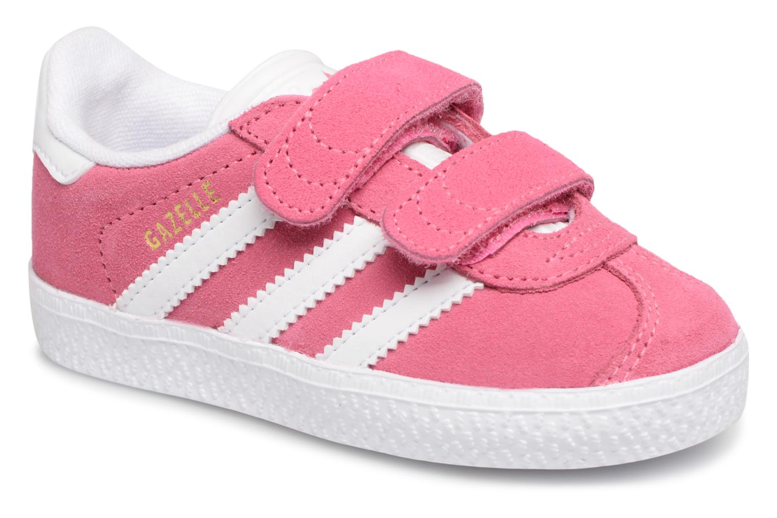 Sneakers Adidas Originals Gazelle Cf I Roze detail