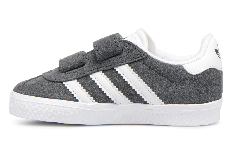 Deportivas Adidas Originals Gazelle Cf I Gris vista de frente