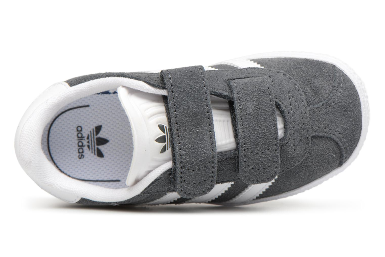 Deportivas Adidas Originals Gazelle Cf I Gris vista lateral izquierda