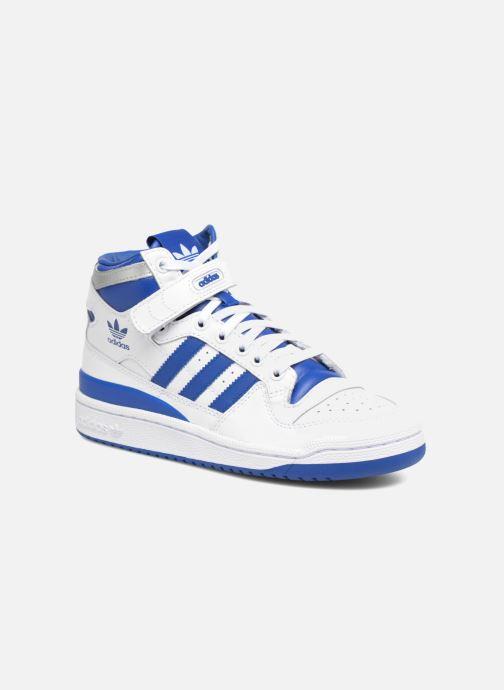 hot sale online 1e403 5cdab Baskets adidas originals Forum Mid J Bleu vue détail paire