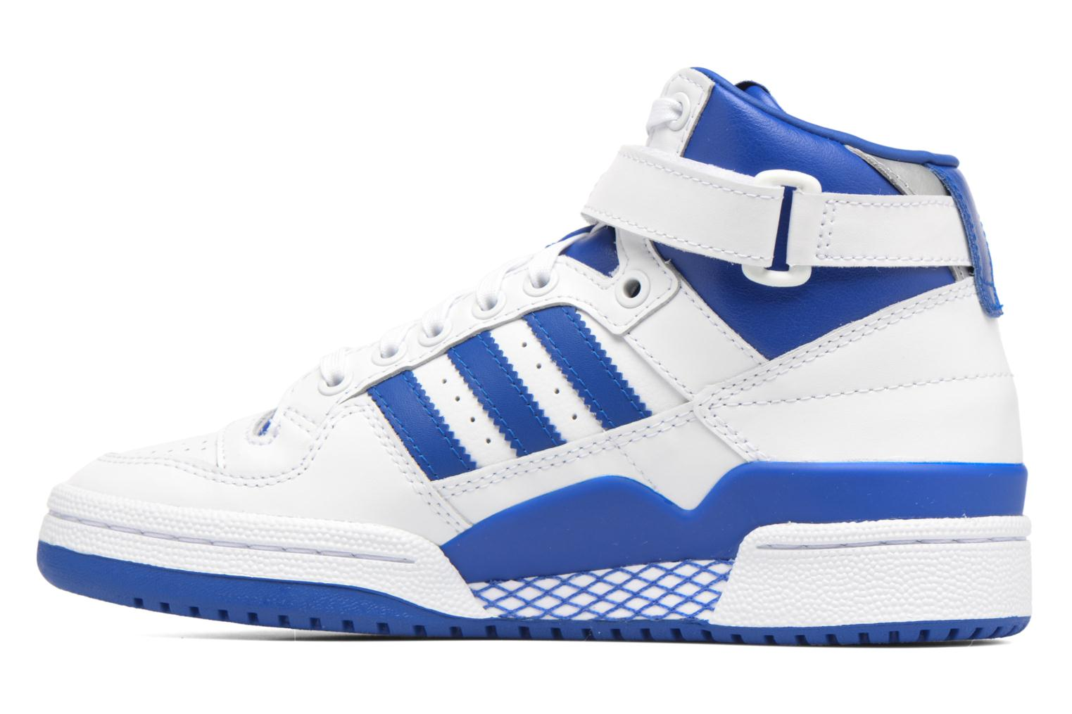 Baskets Adidas Originals Forum Mid J Bleu vue face