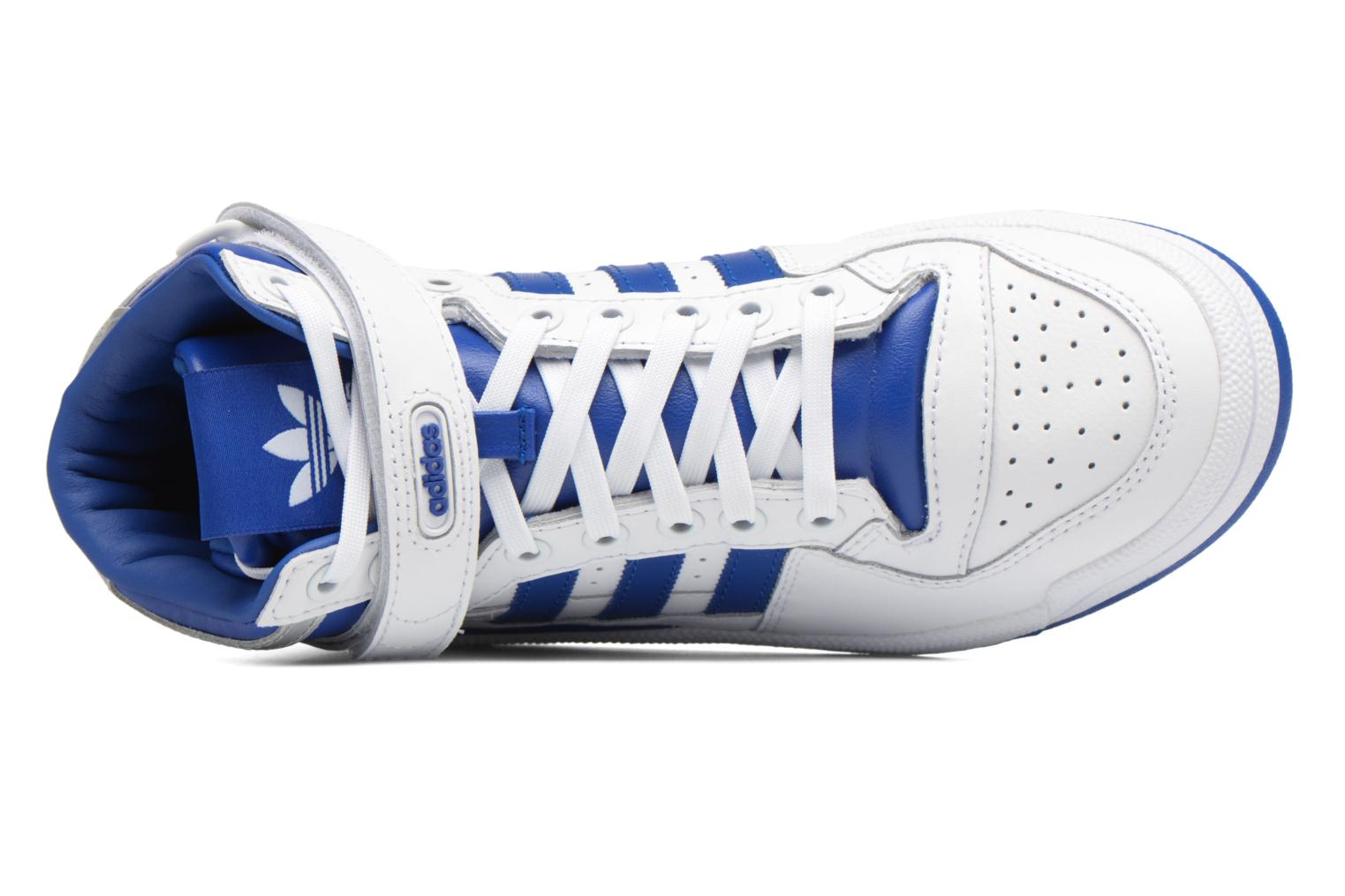Baskets Adidas Originals Forum Mid J Bleu vue gauche