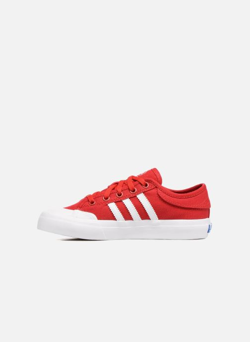 Trainers adidas originals Matchcourt J Red front view