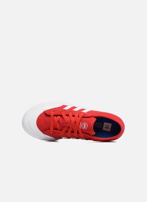 Deportivas adidas originals Matchcourt J Rojo vista lateral izquierda