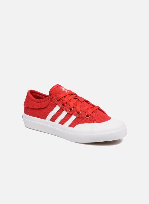 Deportivas adidas originals Matchcourt J Rojo vista de detalle / par