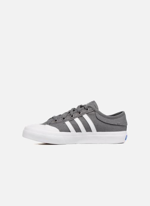 Sneakers adidas originals Matchcourt J Grijs voorkant