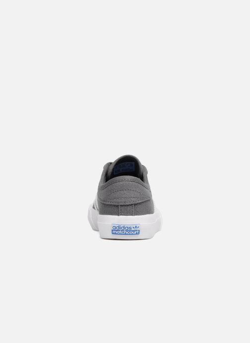 Sneakers adidas originals Matchcourt J Grijs rechts