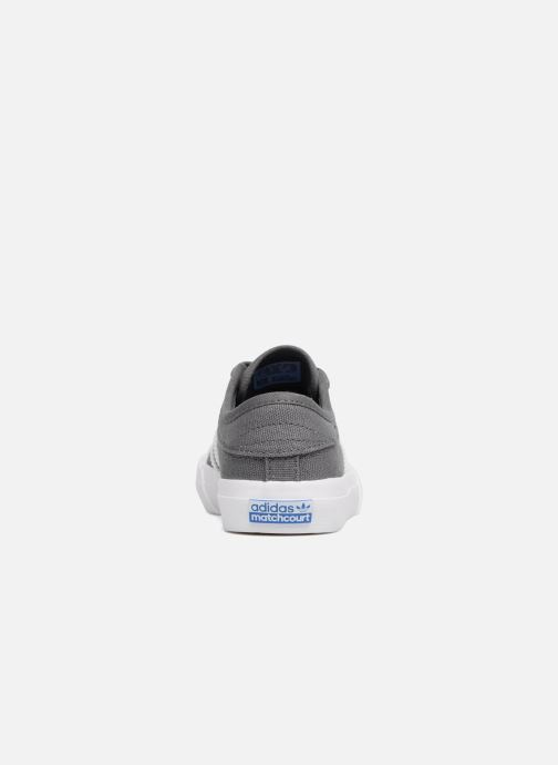 Trainers adidas originals Matchcourt J Grey view from the right