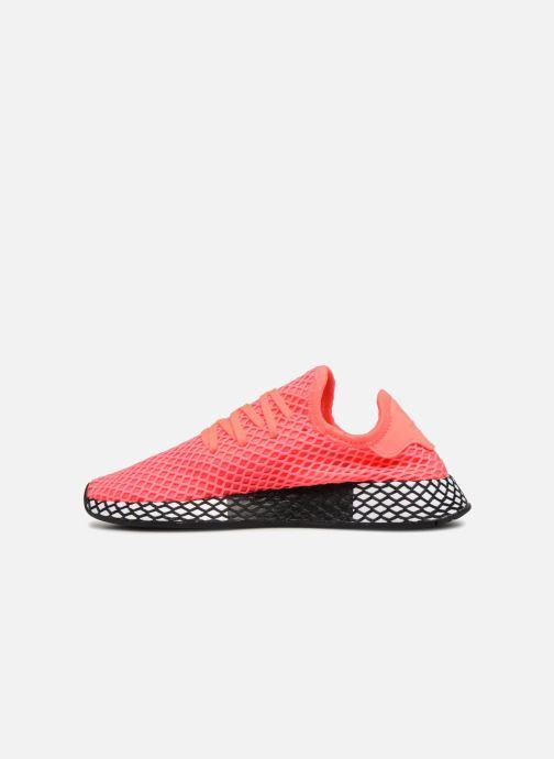 Sneaker adidas originals Deerupt Runner J rosa ansicht von vorne