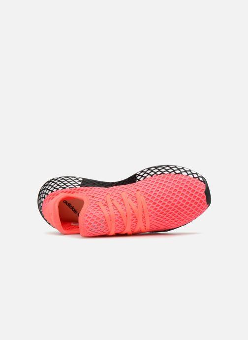 Sneaker adidas originals Deerupt Runner J rosa ansicht von links