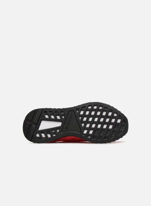 Sneaker adidas originals Deerupt Runner J rosa ansicht von oben