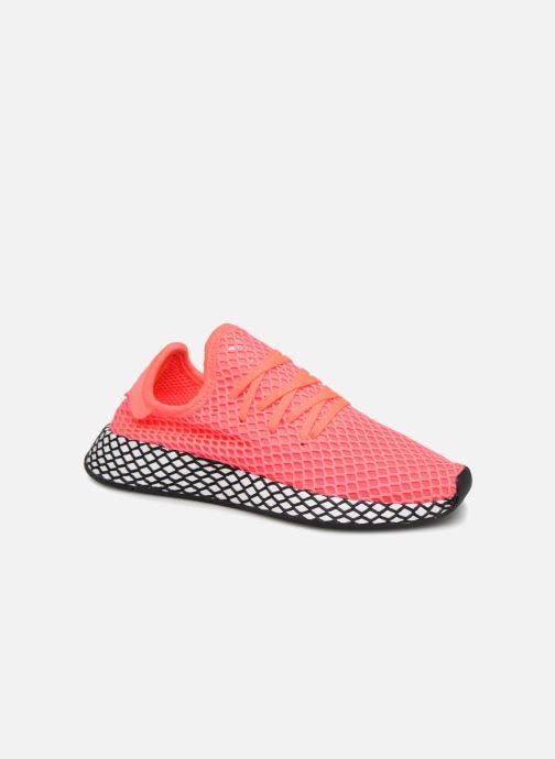 Sneaker adidas originals Deerupt Runner J rosa detaillierte ansicht/modell
