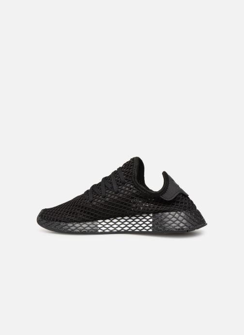 Sneakers adidas originals Deerupt Runner J Sort se forfra
