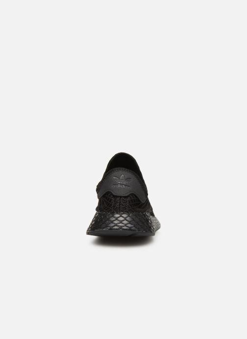 Sneakers adidas originals Deerupt Runner J Sort Se fra højre