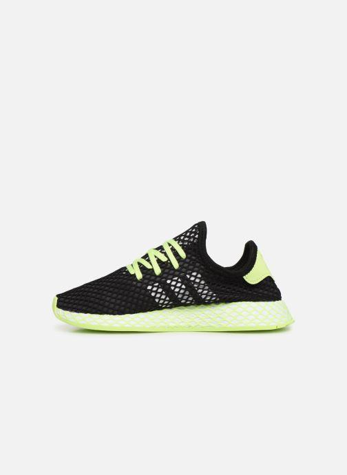 Sneakers adidas originals Deerupt Runner J Svart bild från framsidan