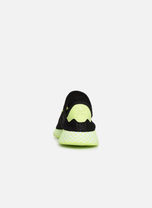 Sneakers adidas originals Deerupt Runner J Svart Bild från höger sidan
